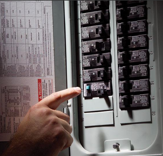 Testing your arcgfci can prevent electrical fires and shocks above at the electrical panel for testing the arc fault at right a typical gfci you will find in bathrooms and kitchens publicscrutiny Choice Image